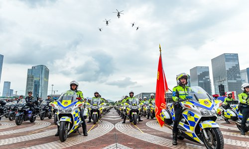 Shenzhen to expand police force with 2,500 new recruits