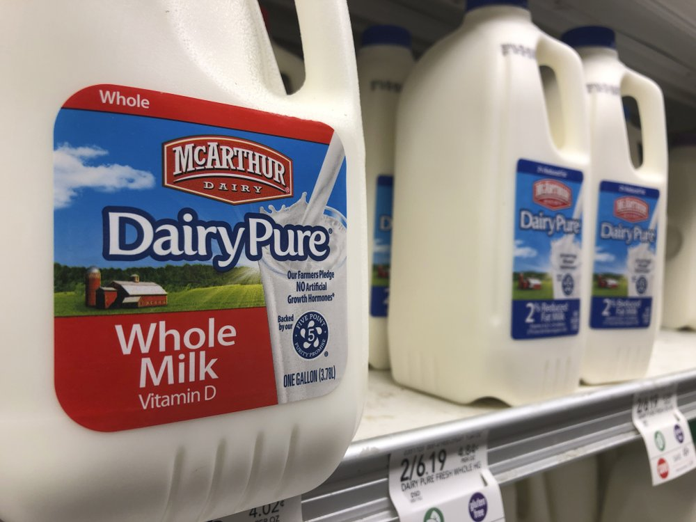 US No. 1 milk company declares bankruptcy amid drop in demand