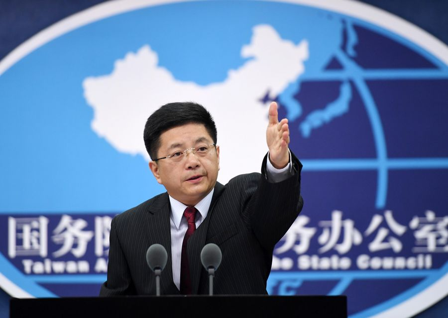 China's mainland: 3 Taiwan residents held for harming national security