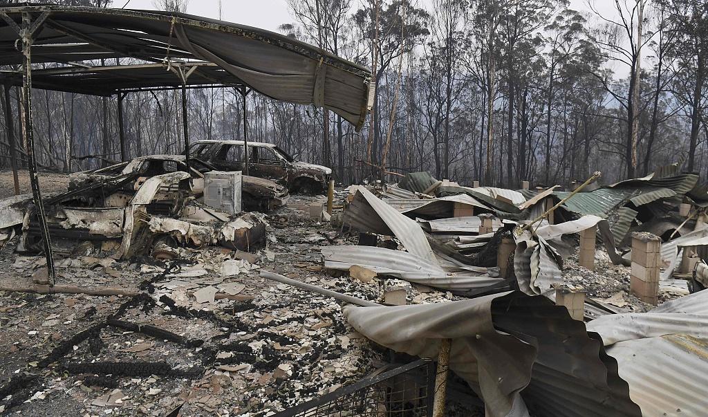 Australian prime minister urges calm in debate over cause of catastrophic bushfires