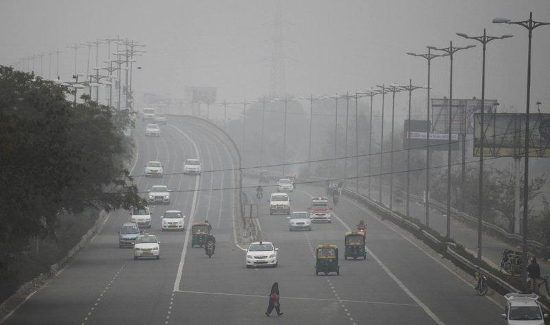 Hazardous air quality forces authorities to shut down schools in India's Delhi