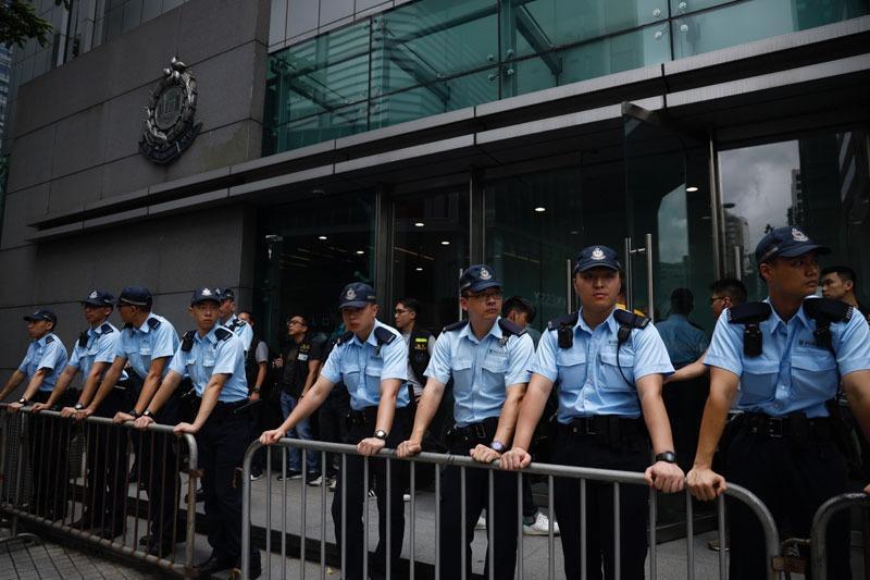 HKSAR gov't dismisses curfew rumors