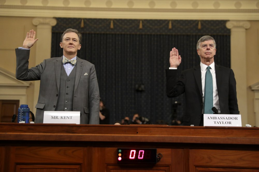 New testimony against Trump as impeachment goes public