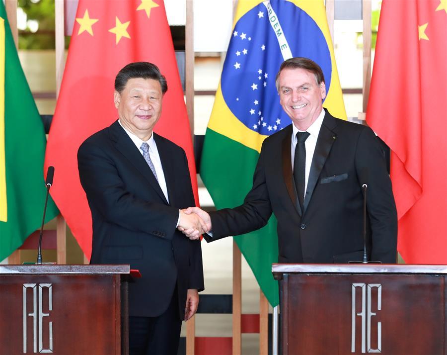 China ready to achieve common prosperity with Brazil: Xi