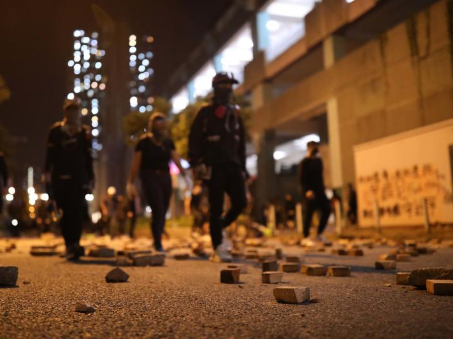 HK gov't, public outraged at rioters after senior worker critically injured