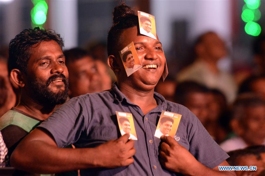 Sri Lanka presidential elections to be held on Nov. 16