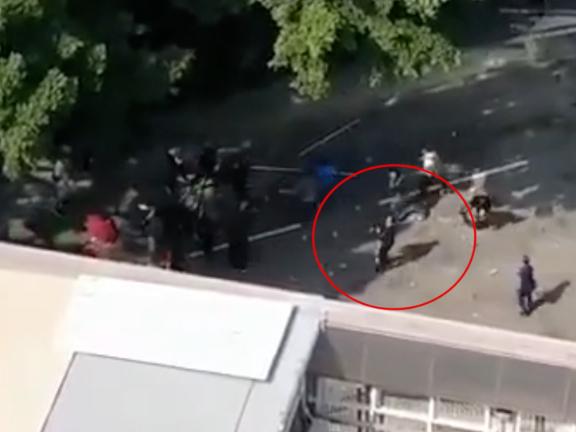 Senior worker dies in hospital after hit in head by brick thrown by Hong Kong rioter