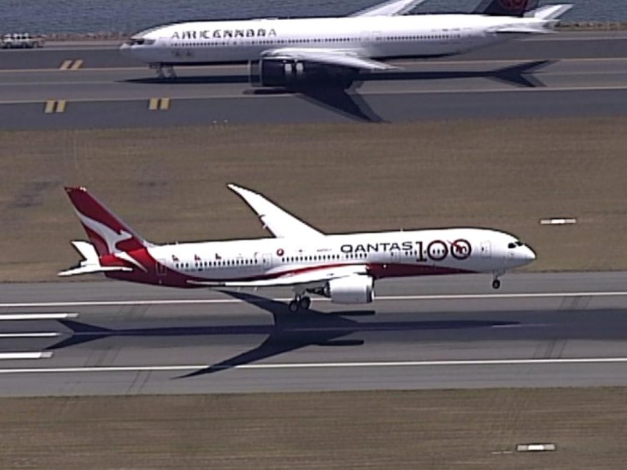 Qantas operates 19 ½-hour London-Sydney flight