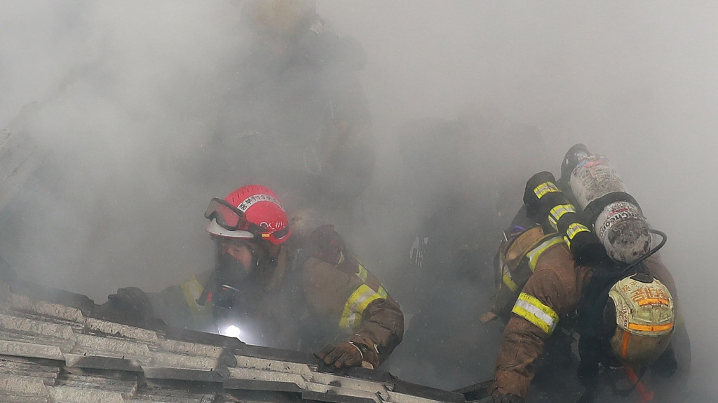 5 dead, 3 injured in building fire in east China