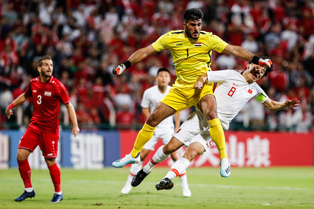 Syria beat China 2-1 in FIFA World Cup qualifier