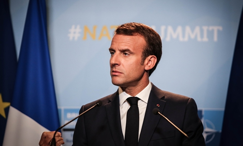 Macron's 'brain-dead' label for NATO points at growing chasm between Europe and US