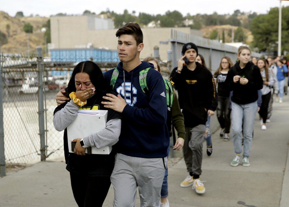 California school shooting: 2 teens killed, 3 wounded