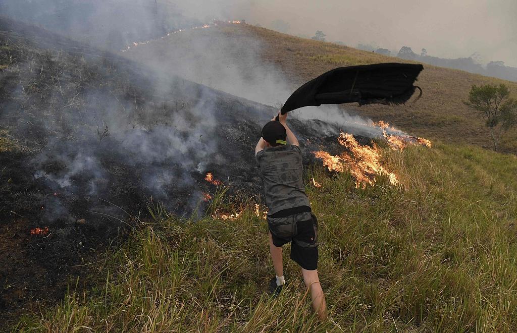 Australian bushfires raze over 250 homes