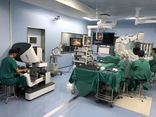 Robot performs first prostatectomy in Shanghai