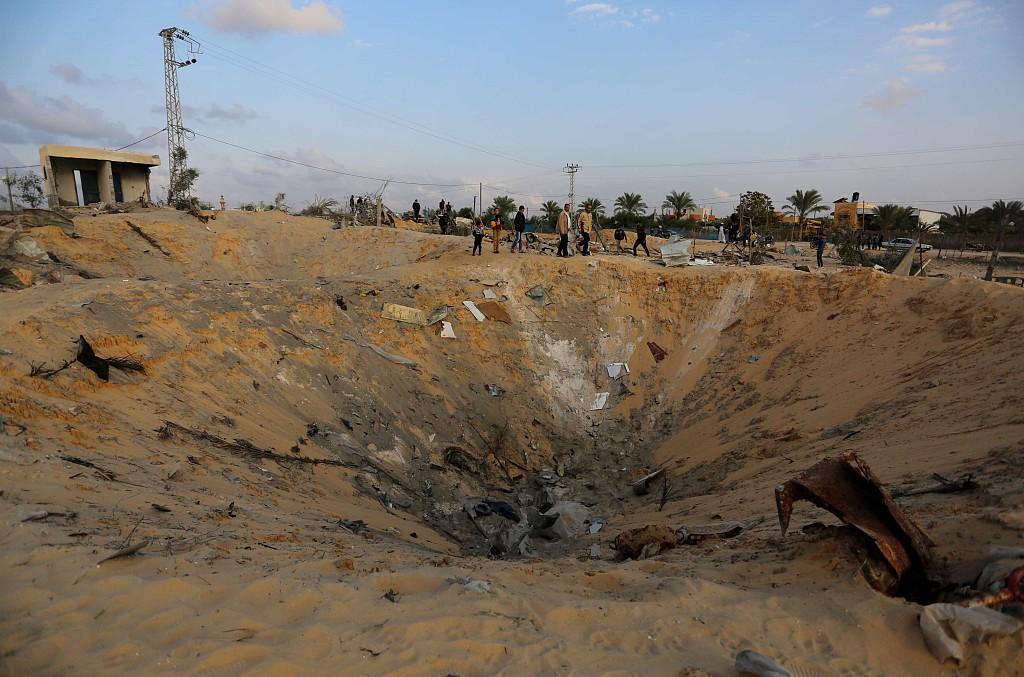 Israel targets Hamas sites after rocket fire