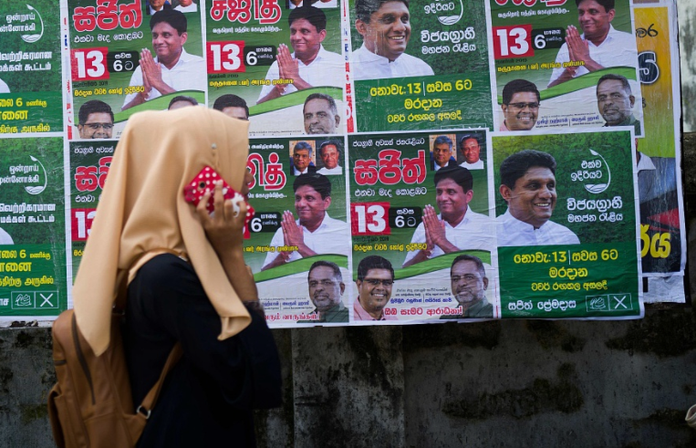 Sri Lankans to elect their 8th president on Saturday