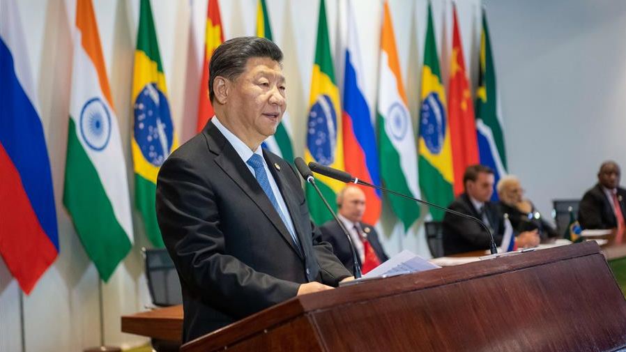 BRI and multilateralism featured in Xi's Greece and Brazil trip