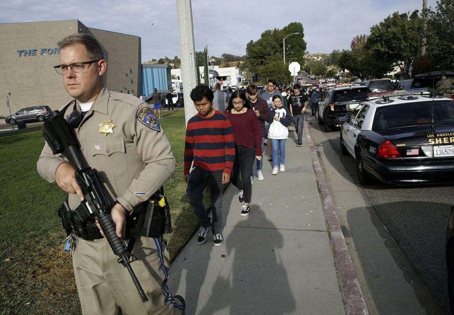 California school shooting suspect described as quiet, smart