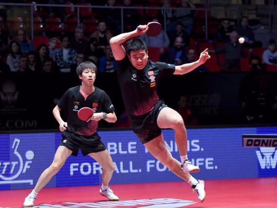 China wins men's doubles final at ITTF World Tour Austrian Open
