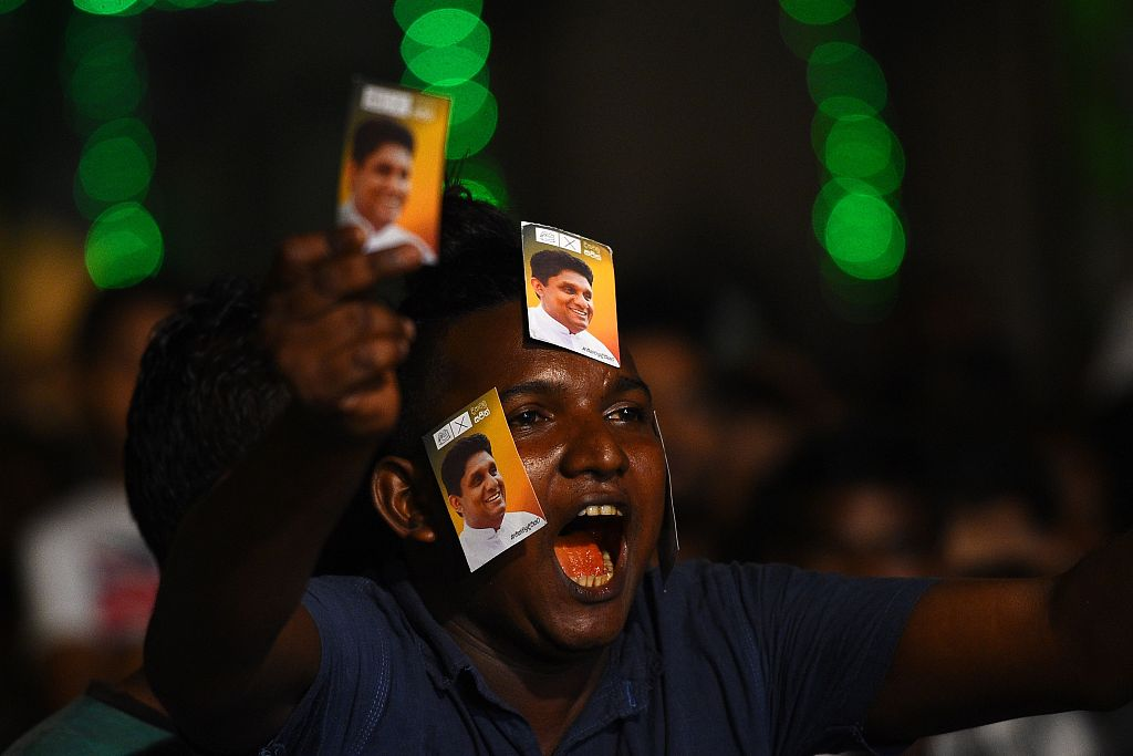 Sri Lanka ruling presidential candidate concedes defeat in presidential poll