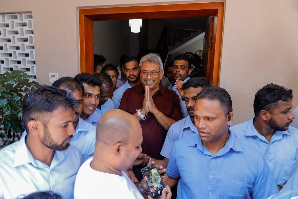 Sri Lankan opposition candidate wins presidential elections