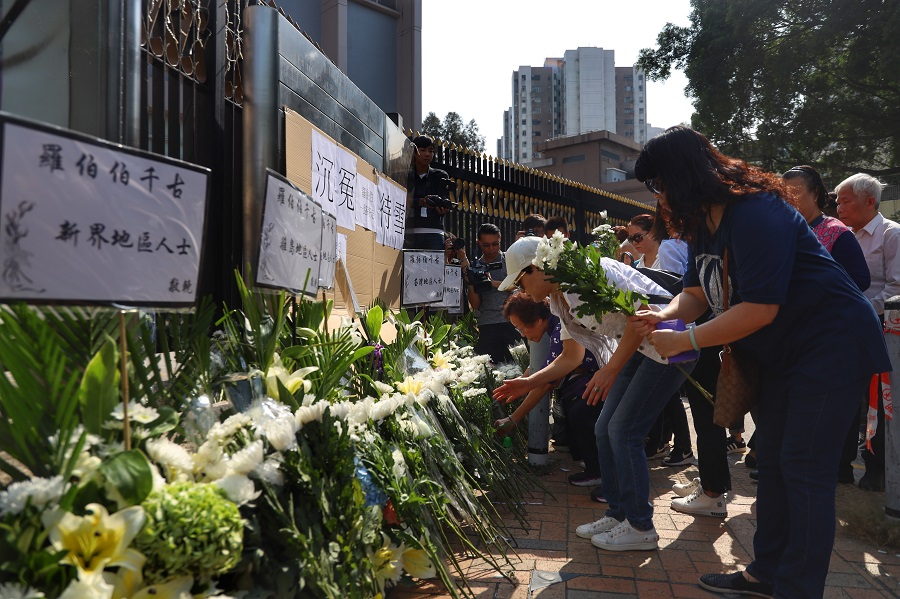 US politicians on the wrong side of justice siding with HK rioters