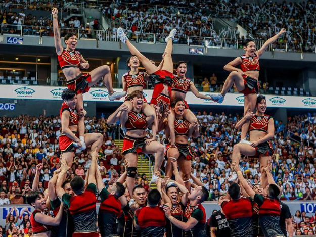 University Athletic Associtaion of the Philippines Cheerdance Competition held in Pasay City