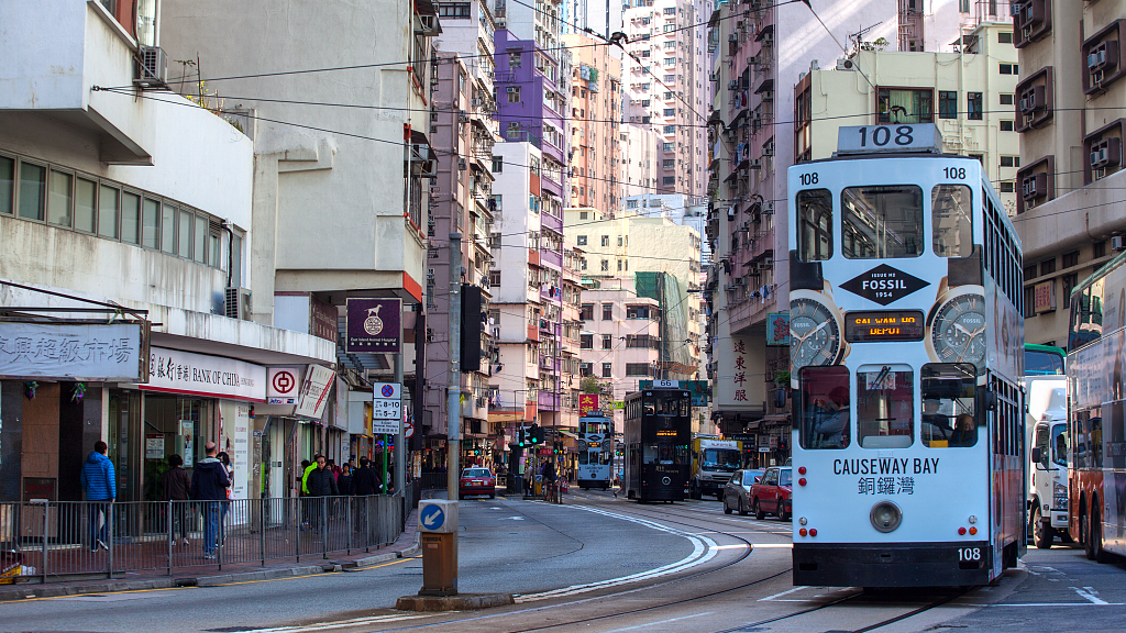 Hong Kong's unemployment rate rose to 3.1 pct. in Aug.-Oct. 2019