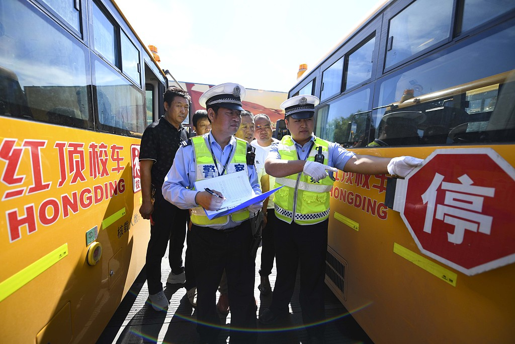 Crackdown on overloaded and illegal school buses