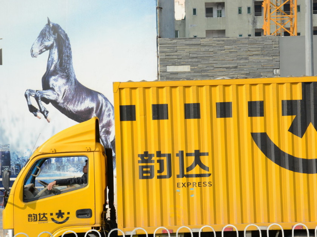 China courier giants post robust revenue growth in October