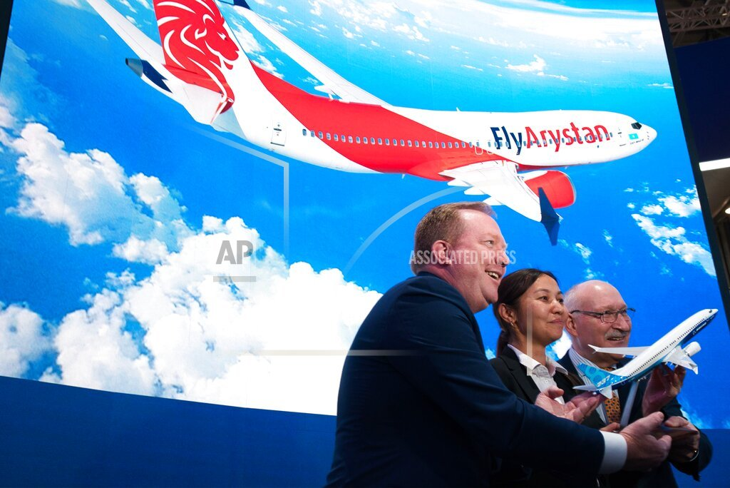 Boeing's grounded 737 Max scores 2nd order at Dubai Airshow