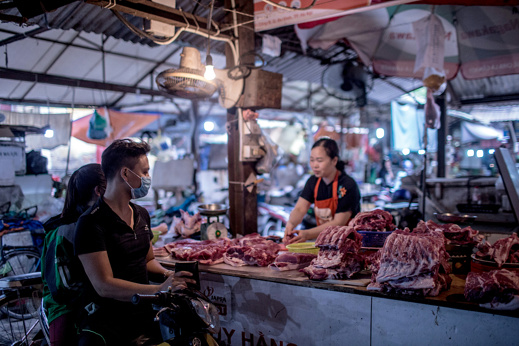 Vietnam faces pork shortage due to African swine fever
