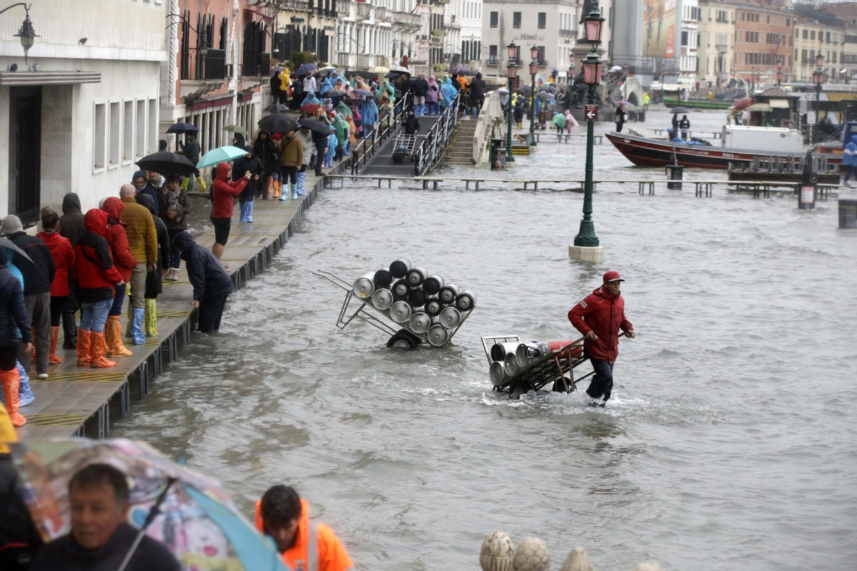 Waterlogged Venice sign of things to come