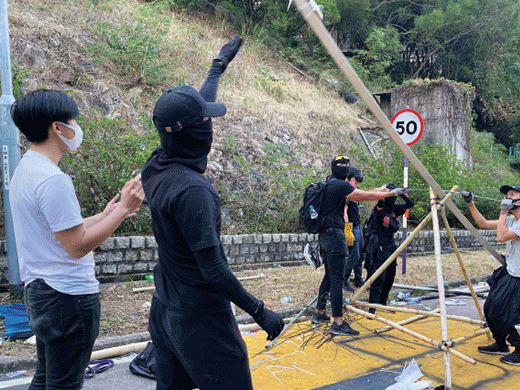 HK govt urges protesters: Come out and surrender