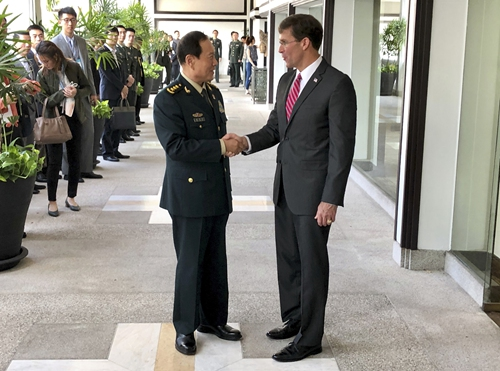 Military relations a stabilizer of China-US ties: spokesperson