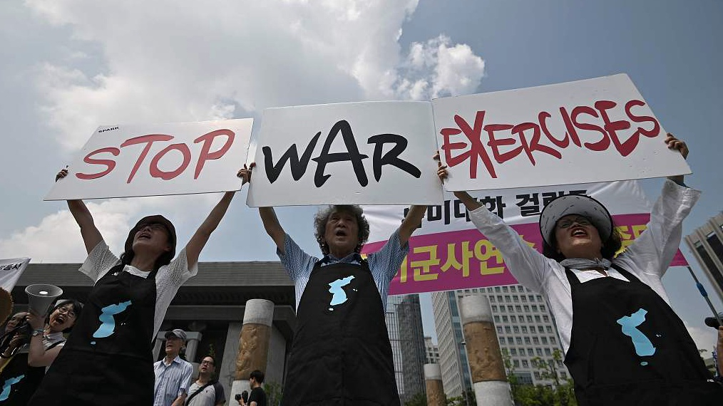 DPRK says US must stop drills 'once and for all' to facilitate talks