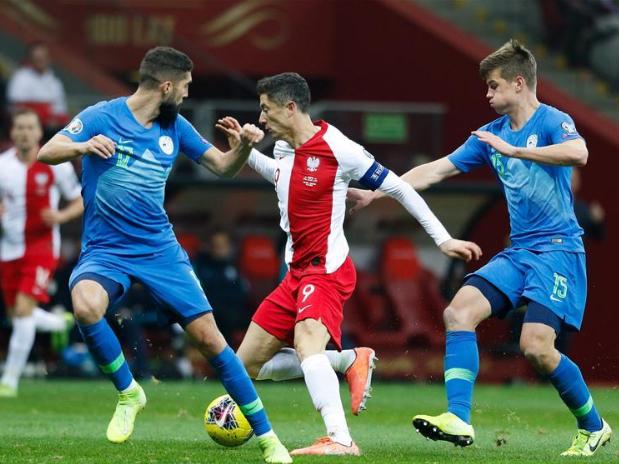 Euro 2020 qualifier: Poland vs. Slovenia