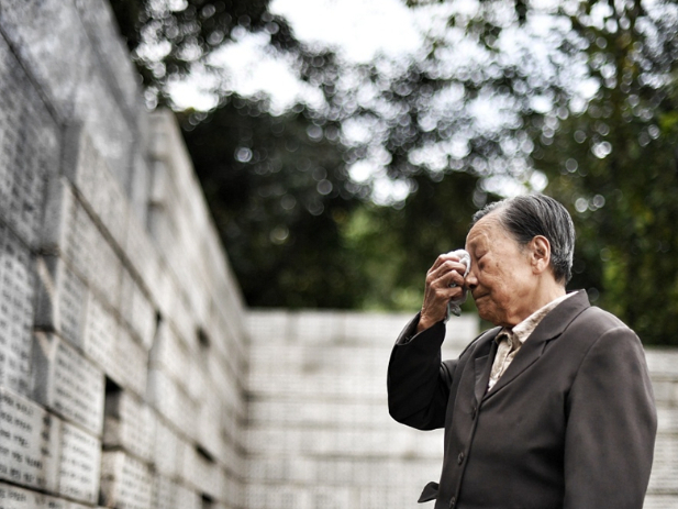 Names on Nanjing Massacre memorial wall restored