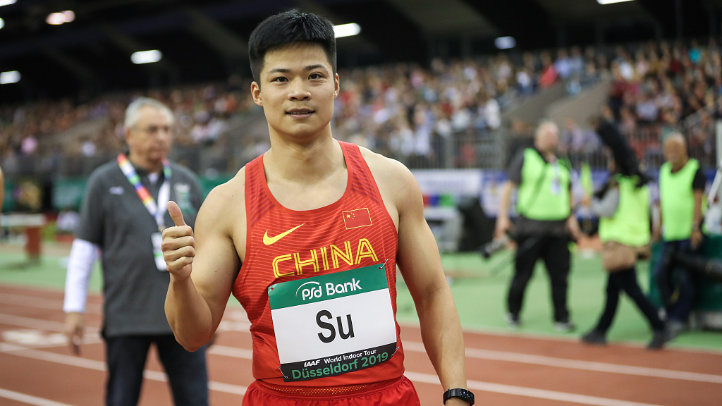 Chinese sprinter Su Bingtian appointed to World Athletics Athletes' Commission