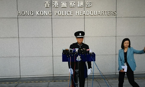 HK's new police chief could be 'more decisive' in stopping riots