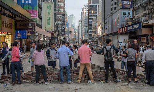 Western media shifts tone on HK riots