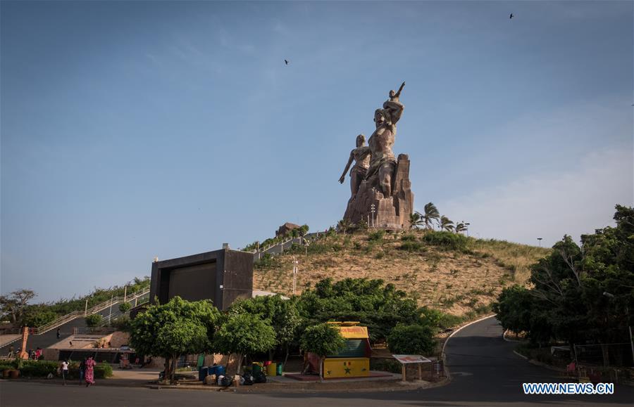 Landmarks in Dakar, Senegal
