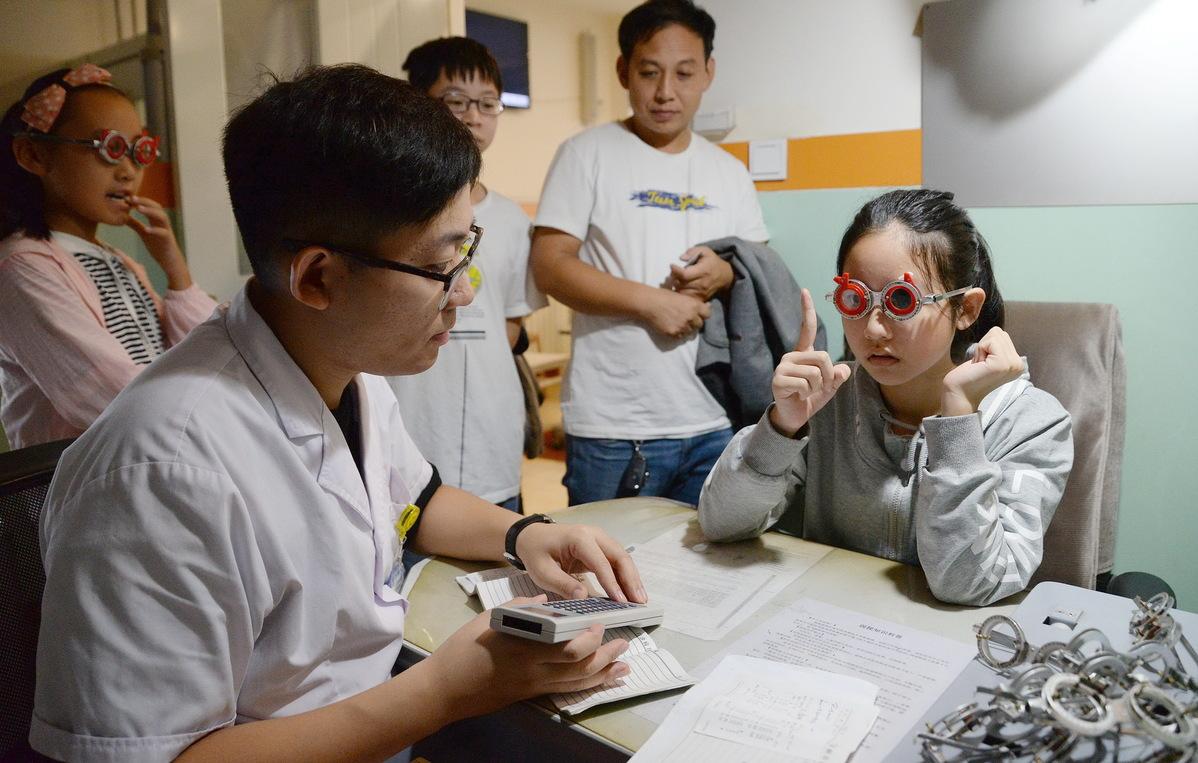 Obesity, poor eyesight worsen among Chinese students, survey finds