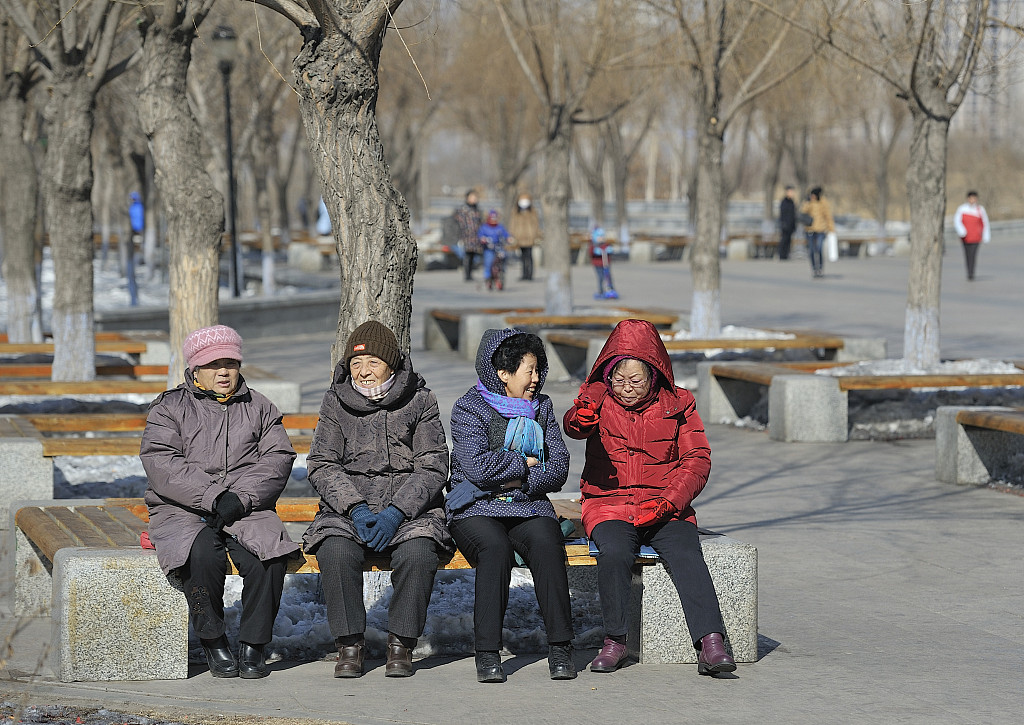 China unveils plan for tackling population aging
