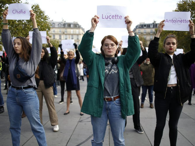 France grapples with high domestic violence rate