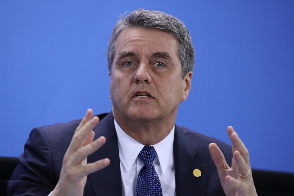 WTO chief says China a champion of multilateral system