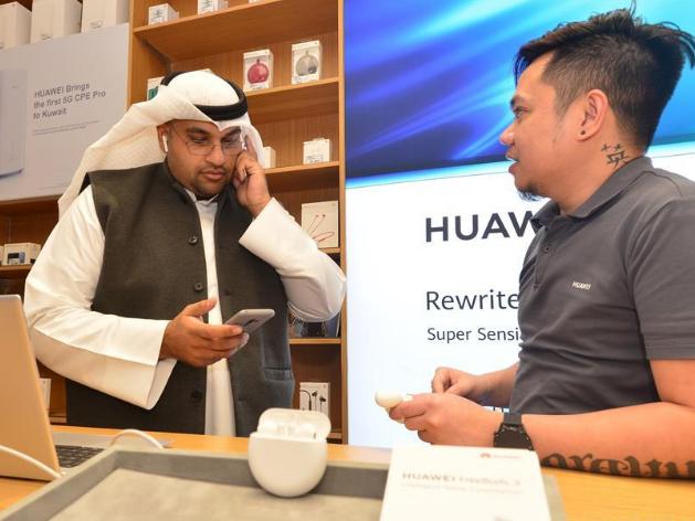 China's Huawei unveils FreeBuds 3 earphones in Kuwait