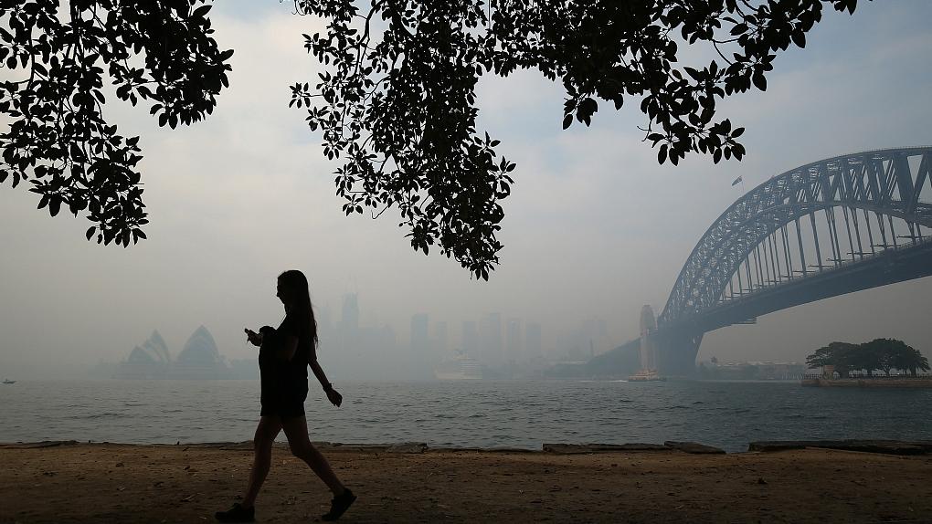Air quality of Greater Sydney deemed 'hazardous'