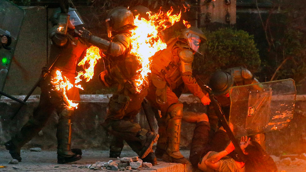 23 dead as violent unrest in Chile enters fifth week