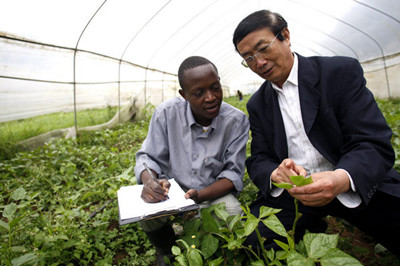 China trains agricultural production experts in Zambia